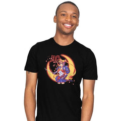 Moon Light Samurai - Mens - T-Shirts - RIPT Apparel