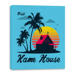 Visit Kame-House - Canvas Wraps - Canvas Wraps - RIPT Apparel