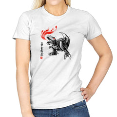 Robot Lizard King Exclusive - Womens - T-Shirts - RIPT Apparel