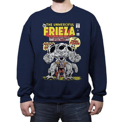 The Unmerciful Frieza - Crew Neck Sweatshirt - Crew Neck Sweatshirt - RIPT Apparel