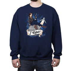 I Rebel! - Crew Neck Sweatshirt - Crew Neck Sweatshirt - RIPT Apparel