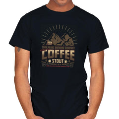 Damn Fine Coffee Stout Exclusive - Mens - T-Shirts - RIPT Apparel