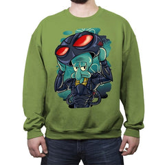 Black Manta Identity - Crew Neck Sweatshirt - Crew Neck Sweatshirt - RIPT Apparel