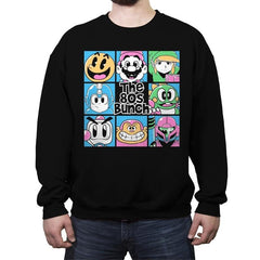 The 80s Bunch - Crew Neck Sweatshirt - Crew Neck Sweatshirt - RIPT Apparel