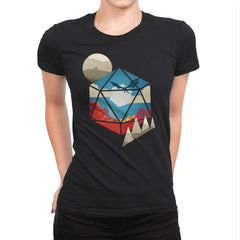 D20 World - Womens Premium - T-Shirts - RIPT Apparel