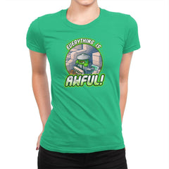 Everything is Awful Exclusive - Womens Premium - T-Shirts - RIPT Apparel