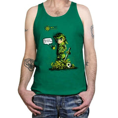 Link the Fire - Tanktop - Tanktop - RIPT Apparel