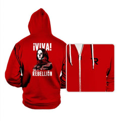 Viva La Rebellion - Hoodies - Hoodies - RIPT Apparel