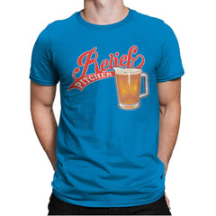 Relief Pitcher - Mens Premium - T-Shirts - RIPT Apparel
