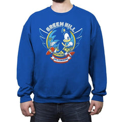 Sonic 5K - Crew Neck Sweatshirt - Crew Neck Sweatshirt - RIPT Apparel