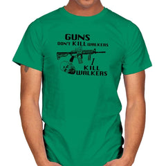 Guns Don't Kill Walkers Exclusive - Mens - T-Shirts - RIPT Apparel