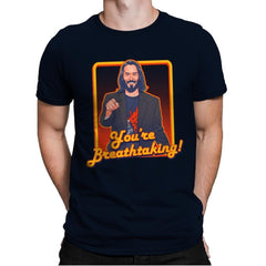 You're Breathtaking! - Anytime - Mens Premium - T-Shirts - RIPT Apparel