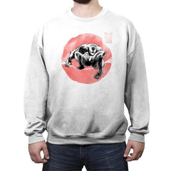 Ink Wash Symbiote - Crew Neck Sweatshirt - Crew Neck Sweatshirt - RIPT Apparel