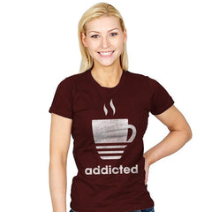 Coffee Classic - Womens - T-Shirts - RIPT Apparel