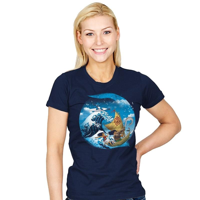 A Tropical Journey - Womens - T-Shirts - RIPT Apparel