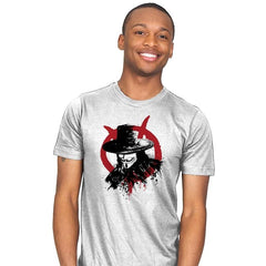 Revolution is Coming - Sumi Ink Wars - Mens - T-Shirts - RIPT Apparel