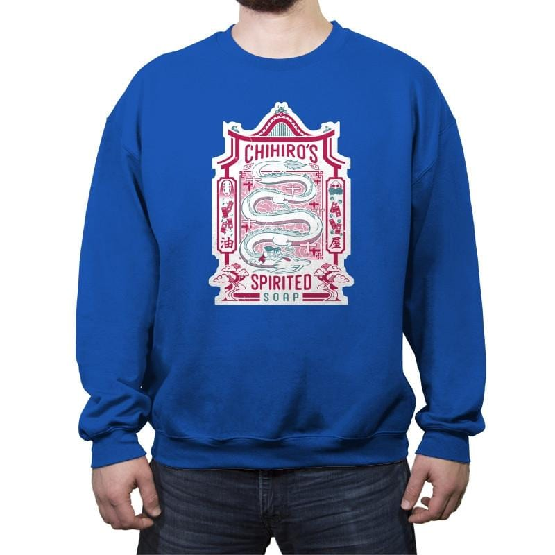 Spirited Soap - Crew Neck Sweatshirt - Crew Neck Sweatshirt - RIPT Apparel