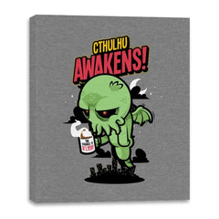 Cthulhu Awakens Again - Canvas Wraps - Canvas Wraps - RIPT Apparel