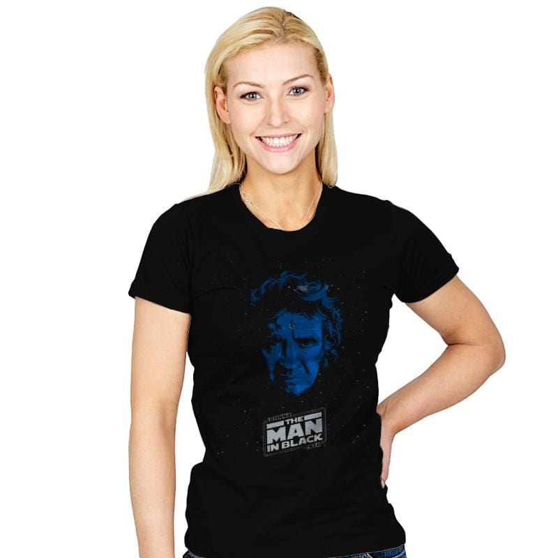 MAN IN BLACK - Womens - T-Shirts - RIPT Apparel