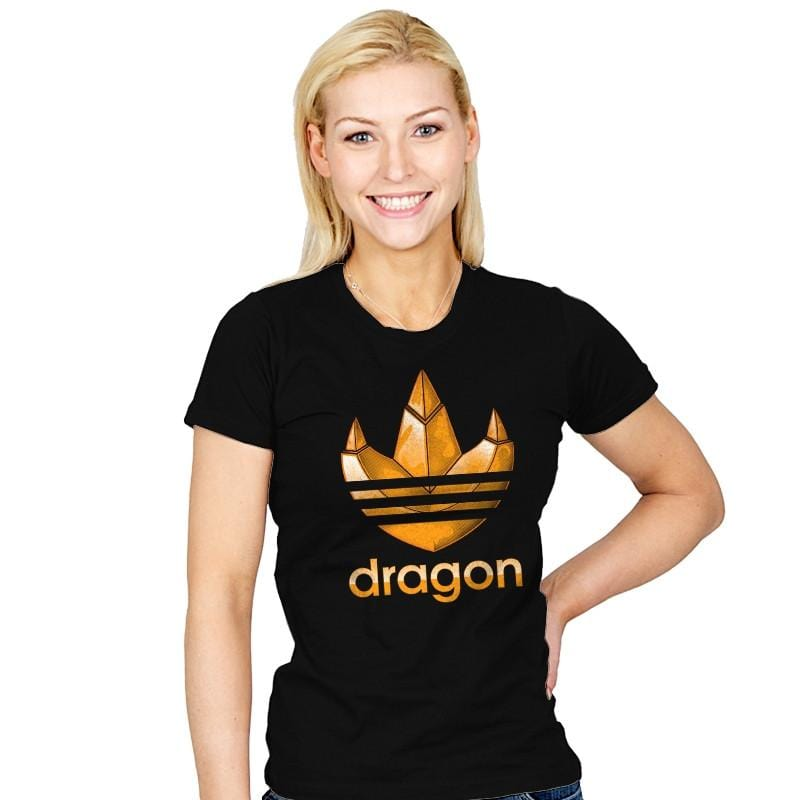 Dragon - Womens - T-Shirts - RIPT Apparel