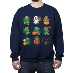 Call of Halloween - Crew Neck Sweatshirt - Crew Neck Sweatshirt - RIPT Apparel