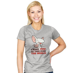 Uncle Brain - Womens - T-Shirts - RIPT Apparel