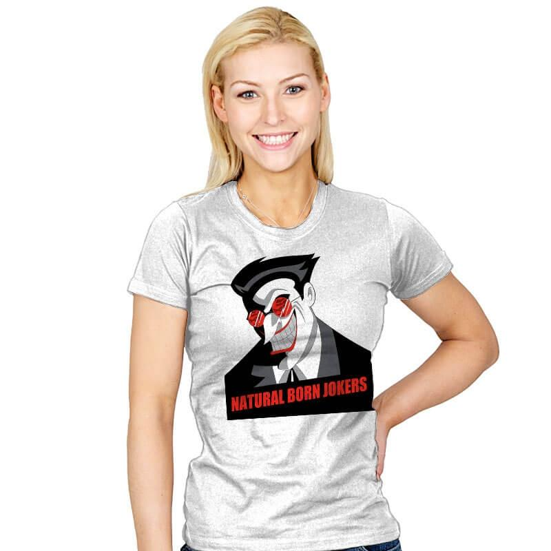 Natural Born Jokers - Womens - T-Shirts - RIPT Apparel
