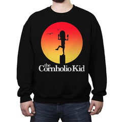 The Cornholio Kid - Crew Neck Sweatshirt - Crew Neck Sweatshirt - RIPT Apparel