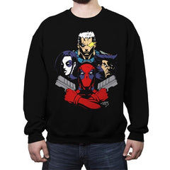 Mercenary Rhapsody - Crew Neck Sweatshirt - Crew Neck Sweatshirt - RIPT Apparel
