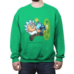 Super Doc-Omb - Crew Neck Sweatshirt - Crew Neck Sweatshirt - RIPT Apparel