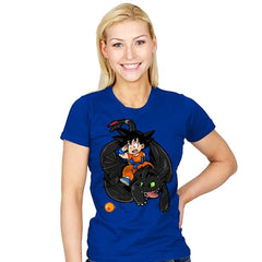 How to Train your Dragon Ball - Womens - T-Shirts - RIPT Apparel