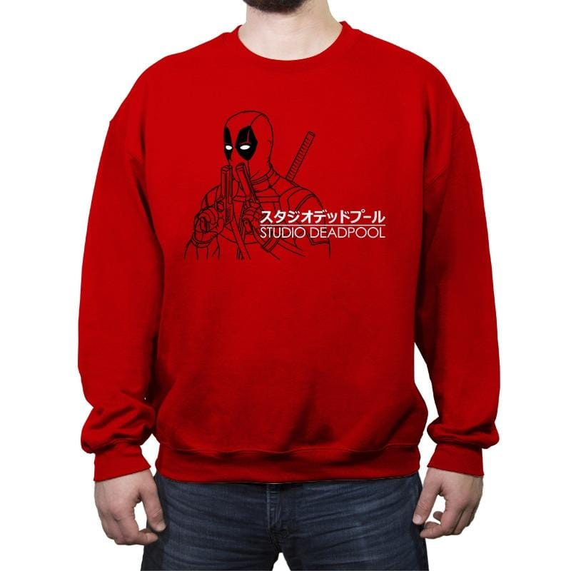 Studio DP - Crew Neck Sweatshirt - Crew Neck Sweatshirt - RIPT Apparel