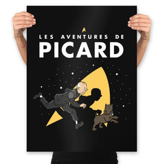 The Adventures of Picard - Prints - Posters - RIPT Apparel