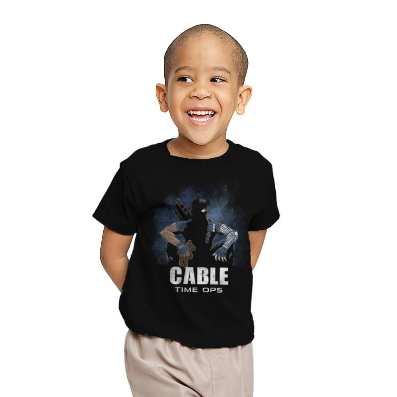 Cable Time Ops - Youth - T-Shirts - RIPT Apparel
