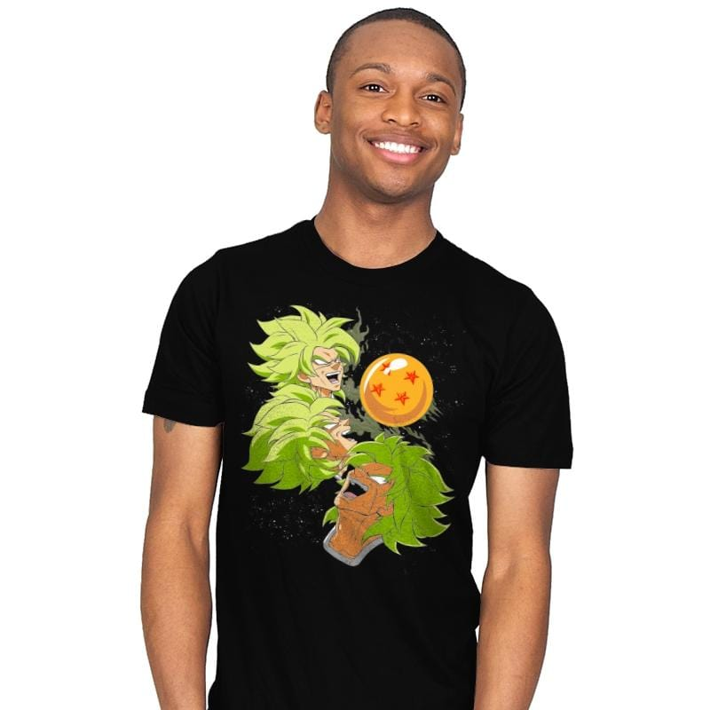 Three Broly Moon - Mens - T-Shirts - RIPT Apparel