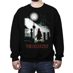 The Occultist - Crew Neck Sweatshirt - Crew Neck Sweatshirt - RIPT Apparel