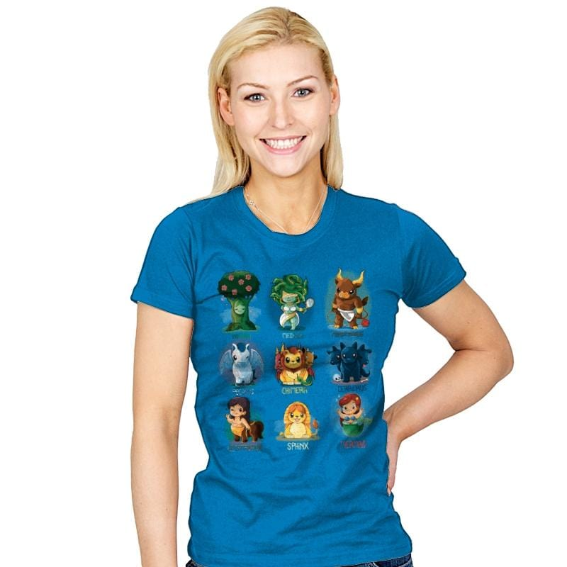 Mythology Creatures - Womens - T-Shirts - RIPT Apparel