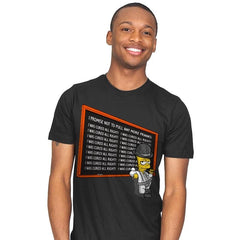 A Chalkboard Orange - Mens - T-Shirts - RIPT Apparel