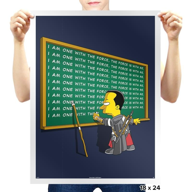 Chirrut Detention - Prints - Posters - RIPT Apparel