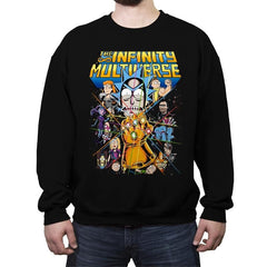 The Infinity Multiverse - Crew Neck Sweatshirt - Crew Neck Sweatshirt - RIPT Apparel