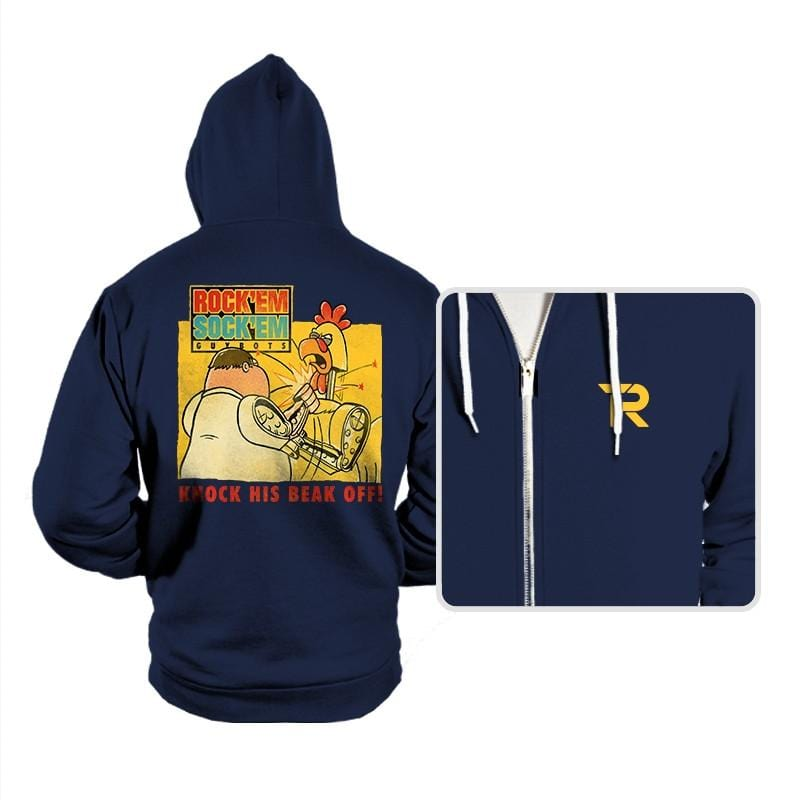 Rock'em Sock'em Guybots - Hoodies - Hoodies - RIPT Apparel