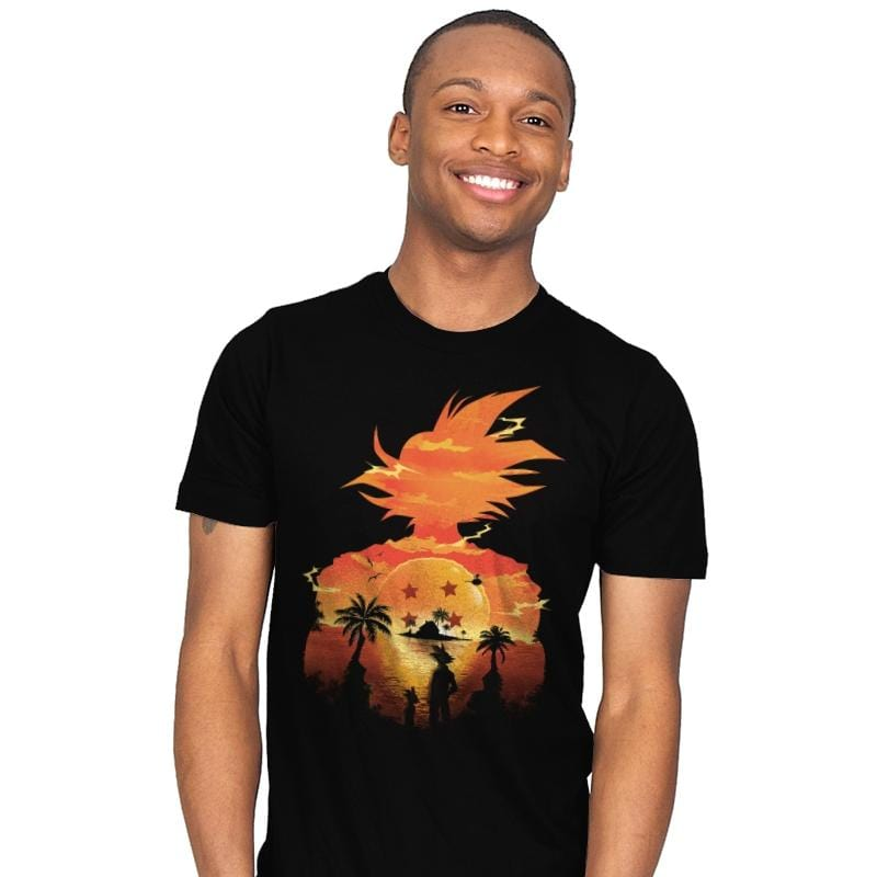 Beautiful Sunset - Best Seller - Mens - T-Shirts - RIPT Apparel