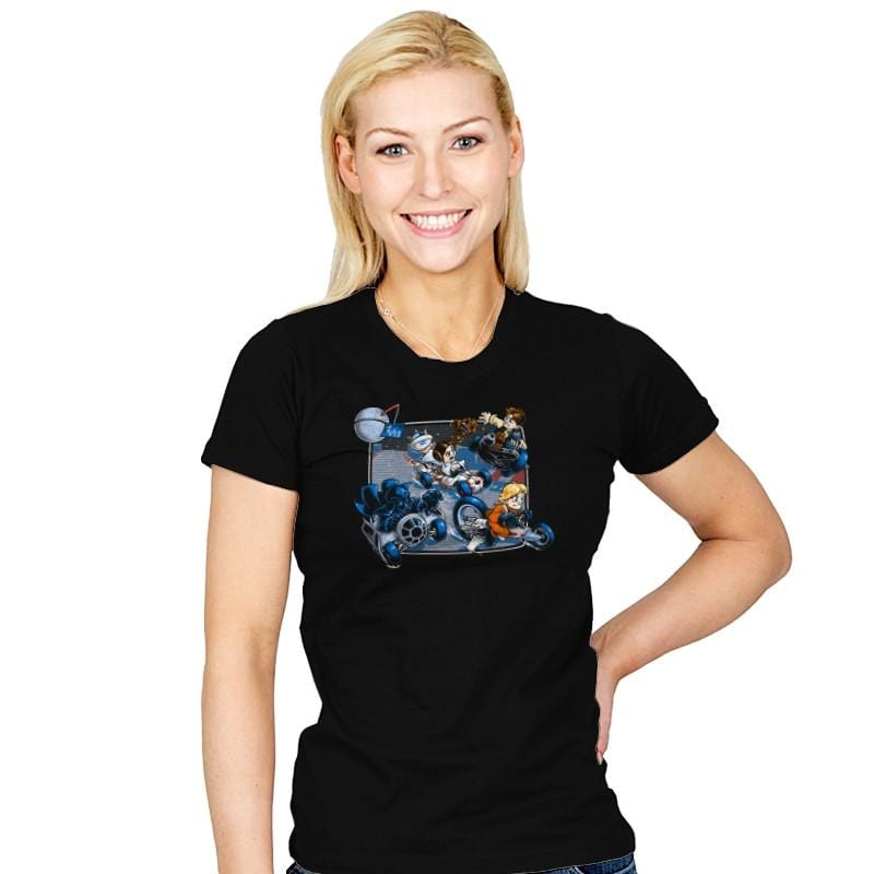 Super Kart Wars - 80s Blaarg - Womens - T-Shirts - RIPT Apparel