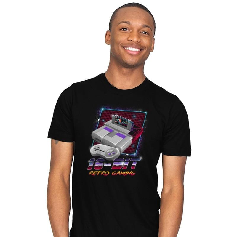 16-Bit Retro Gaming - Mens - T-Shirts - RIPT Apparel