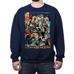 H.B. SUPER HEROES - Crew Neck Sweatshirt - Crew Neck Sweatshirt - RIPT Apparel