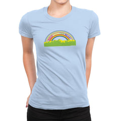 Double Rainbow Exclusive - Womens Premium - T-Shirts - RIPT Apparel