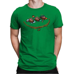 Roasted Coffee - Mens Premium - T-Shirts - RIPT Apparel