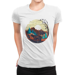 Nature Chill - Womens Premium - T-Shirts - RIPT Apparel