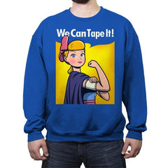 We can tape it! - Crew Neck Sweatshirt - Crew Neck Sweatshirt - RIPT Apparel