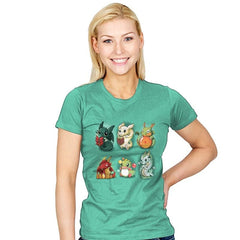 Nerd Dragons - Womens - T-Shirts - RIPT Apparel